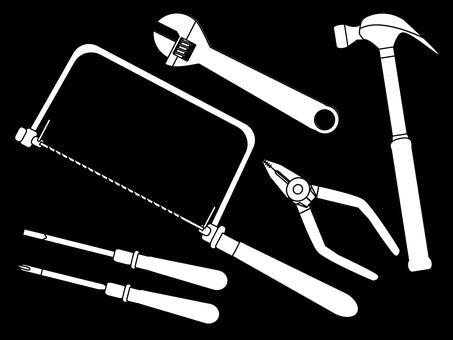 工具_白黒