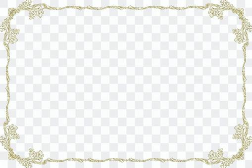 Antique pattern frame frame background material Luxury