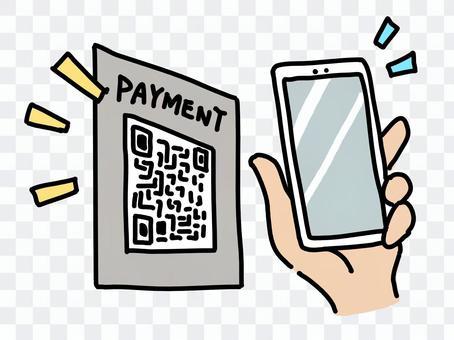 掃描電子貨幣二維碼