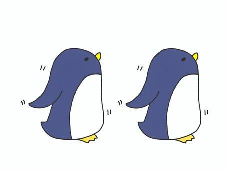 2步行企鵝1