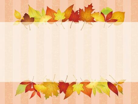 Various autumn leaves · autumn leaves Frame 03