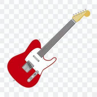 電吉他紅色