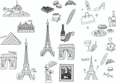 法國材料單色