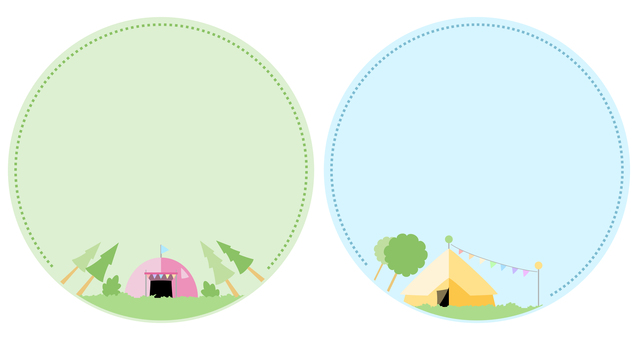 Camp tent frame 1