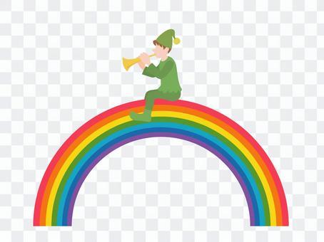 彩虹和矮人
