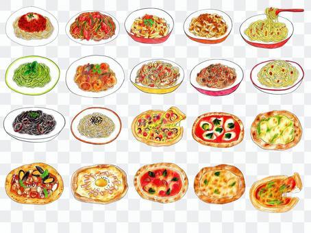 意大利面和比薩餅總結