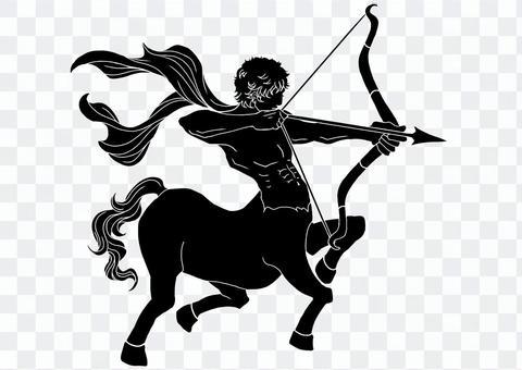 Sagittarius silhouette