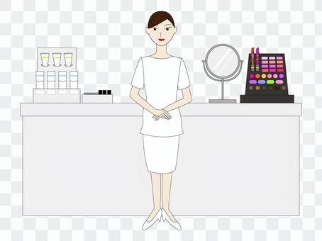 美容俱樂部(白色制服)