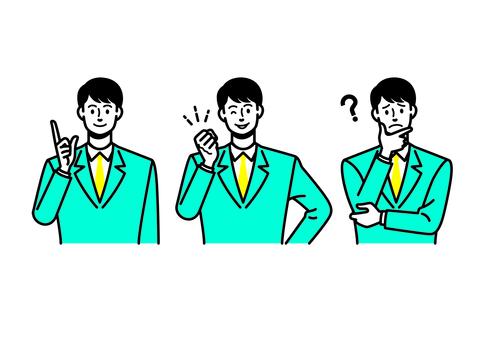 Men in suit 1