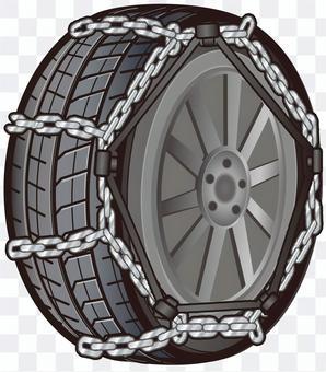 Tire chain iron (ladder type)