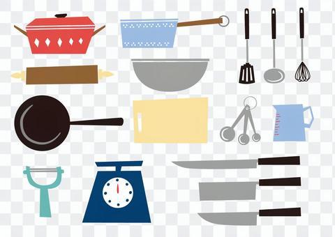 斯堪的納維亞風格的炊具
