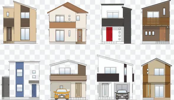 Housing Elevation Simple Modern 02