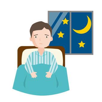 我睡不著,因為太難了