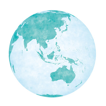 지구(수채화)