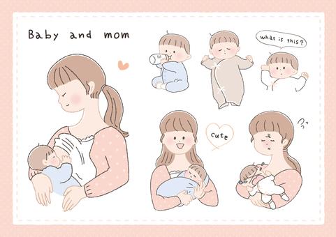 寶寶和媽媽