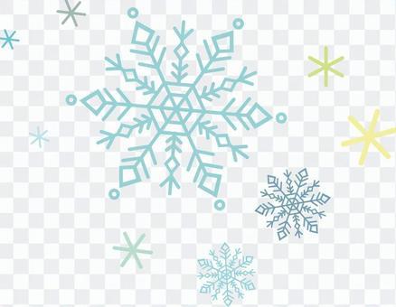 雪水晶三角
