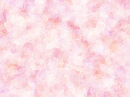 Background crack pink uneven pattern