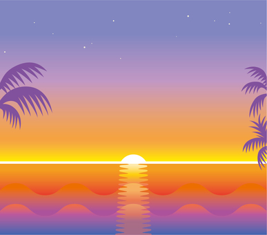 Sunset Sunset Tropical Sea and Sky 3