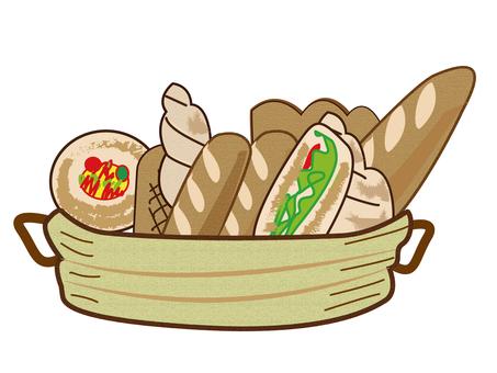 Assortment of delicious bread