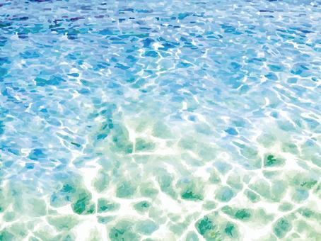 海邊樣式水錶面海表面背景水池手段西南邊界