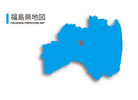 福島縣_地圖_陰影
