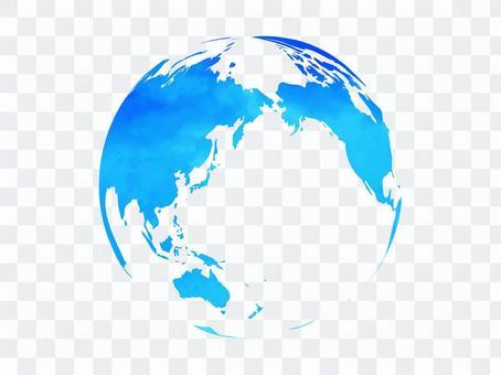 地球[7]水彩