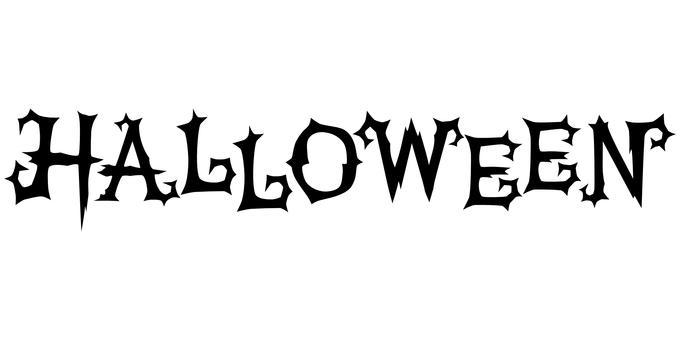 Typography Halloween