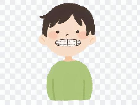 Men doing orthodontics