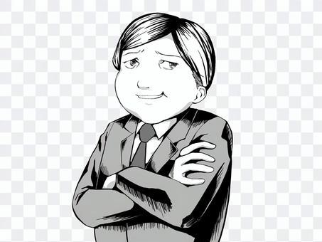漫畫風格_男人_無字符
