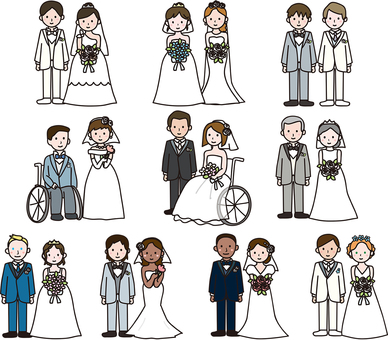 Various marriages
