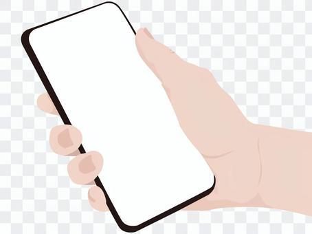 手與智能手機2