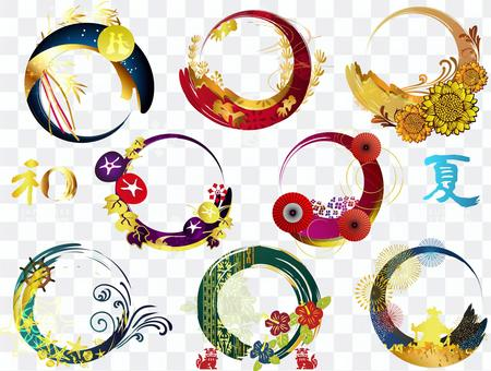 L-0324:日本車輪,夏天