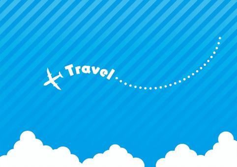 飛行機旅行イメージ