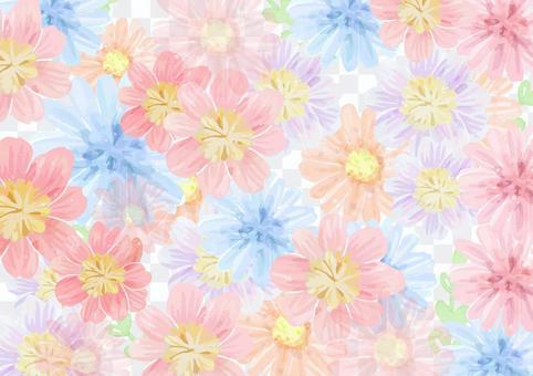 背景素材031 お花の背景