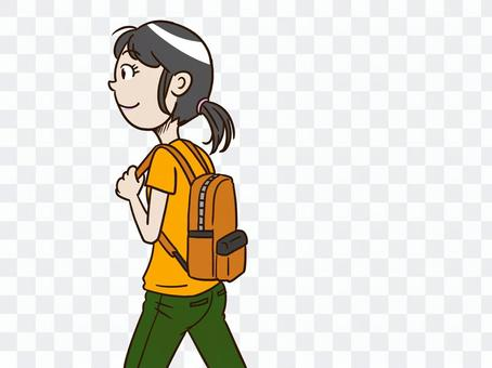 Go out with your favorite backpack