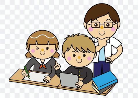 學生12_02(男女平板電腦和老師)