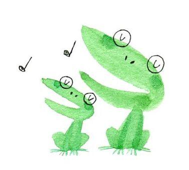 二重奏青蛙
