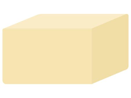 從一個角度看方形豆腐