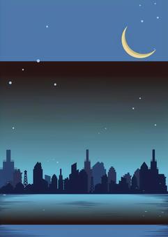 工廠夜星新月