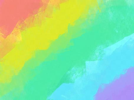 水彩彩虹壁紙
