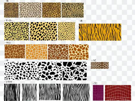Animal pattern (leopard, cheetah, tiger, etc.)