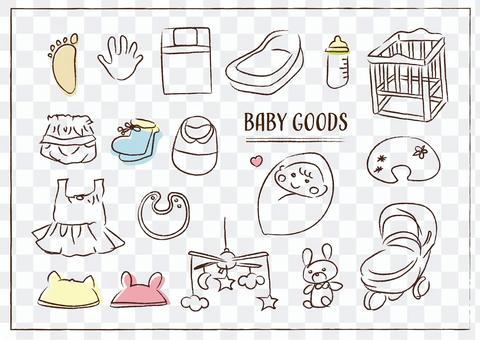 育兒套裝嬰兒寶寶收藏品