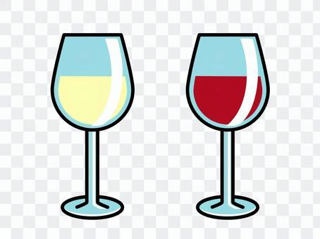 酒杯簡單的酒