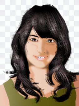黑髮女孩04