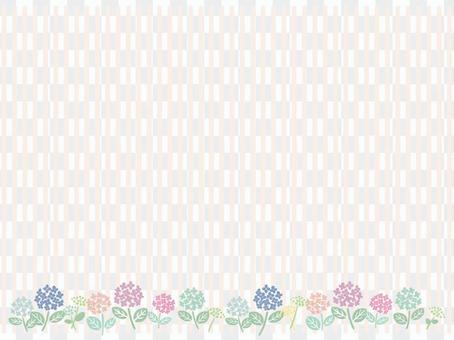 雨季繡球花背景素材2