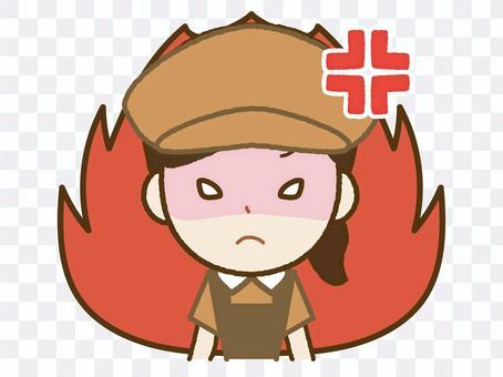 Anger MAX-Cafe Clerk A(Muka)-27