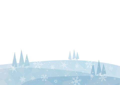 冬天簡單可愛的背景素材2