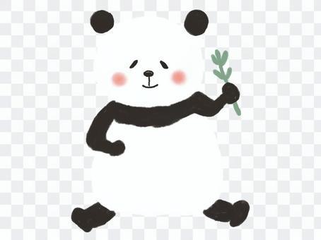かわいいパンダ