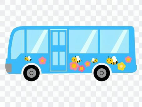 托儿所学校巴士