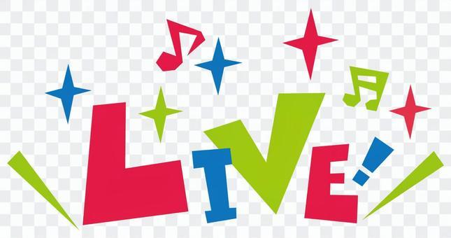 LIVE! ☆ Live ☆ POP LOGO icon